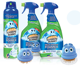 Scrubbing Bubbles Mega Shower Foamer Scrubbing Bubbles Trigger Sprays Only $.18 Each at Target!