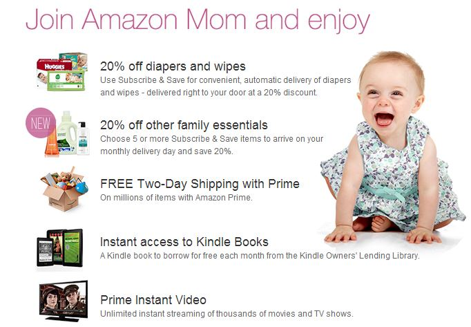 amazon mom22 Amazon: Get 50% off Diaper Purchase! (Luvs 160ct for only $12.70!)