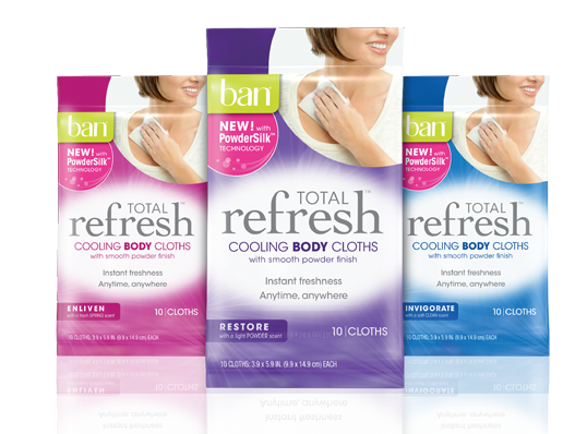 ban refresh Free Ban Refresh Cooling Cloths