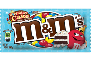 bdaycakemms Mega or Birthday Cake M&Ms Singles Only $.25 at CVS!