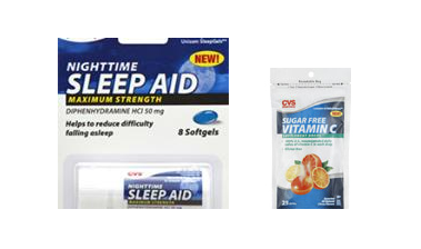 cvsfreebies HOT! FREE Sugar Free Vitamin C Supplements and Sleep Aid Travel Pack from CVS!!!
