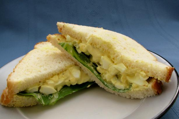egg salad Recipe: Simple Homemade Egg Salad Sandwich