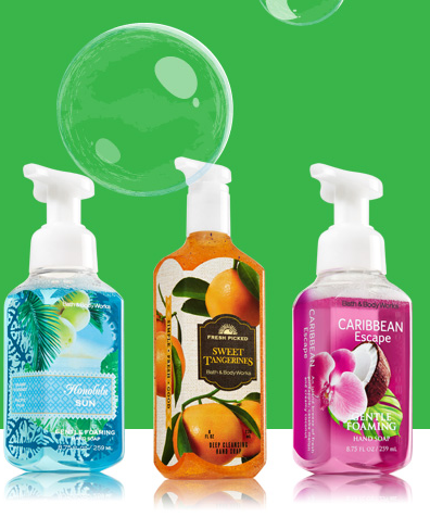 freehandsoap FREE Hand Soap at Bath and Body Works! (no purchase required)