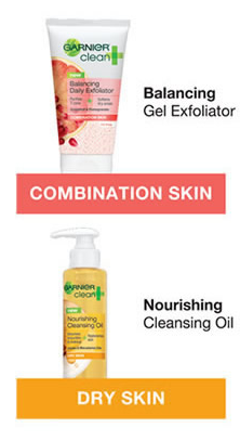 garnier balance Free Garnier Balancing Gel or Nourishing Cleansing Oil