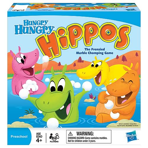 hippos Hasbro Toys and Games as Low as $4.88 at Walmart!