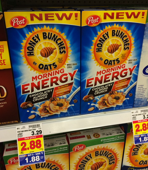 honeybunchesofoats Honey Bunches of Oats Only $.88 at Kroger!