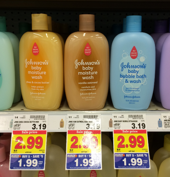 johnsons Johnsons Baby Products As Low As $.99 at Kroger!