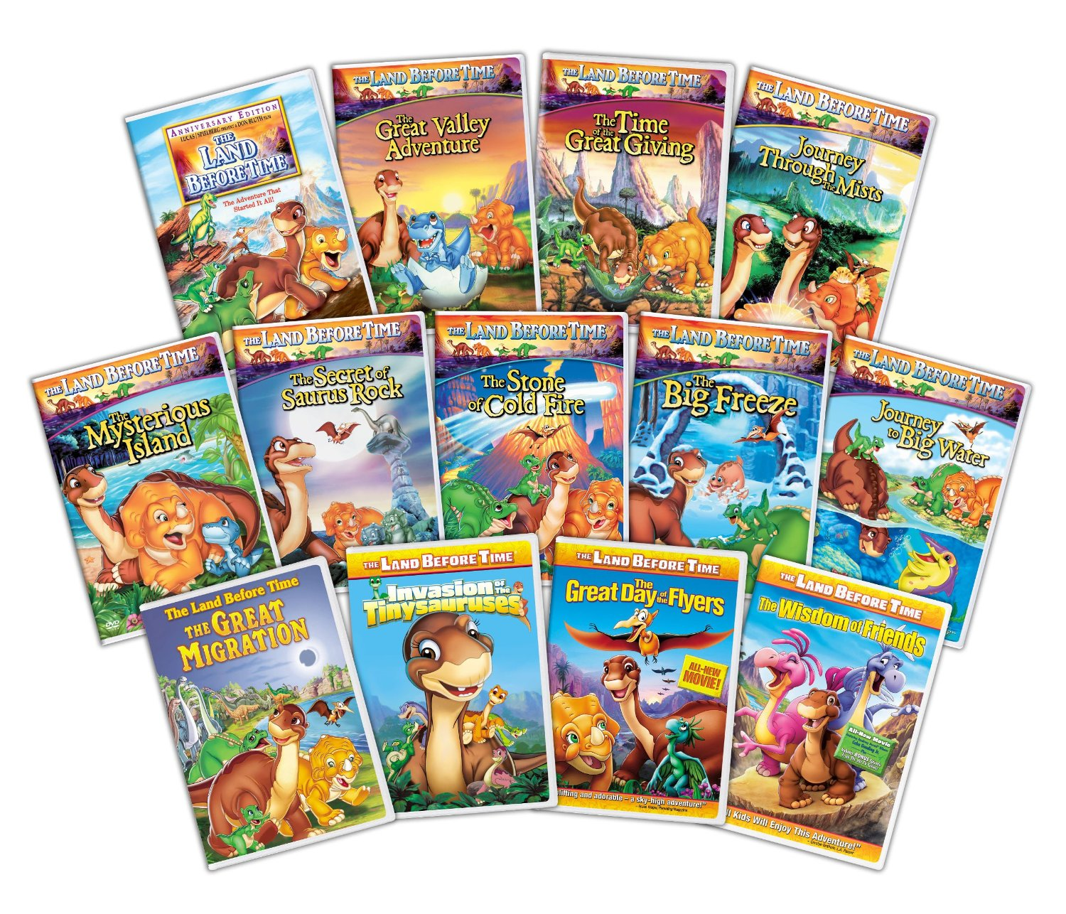 landbeforetime Land Before Time: The Complete Collection Only $38.99 (Reg. $129.87!)