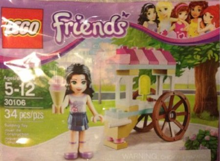lego friends Lego Friends: Emma with Ice Cream Cart Stand only $6.88 (reg $18.95) + more great deals too!