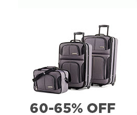 luggage Kohls: Door Buster Deals up to 65% Off + Kohls Cash! (today only)