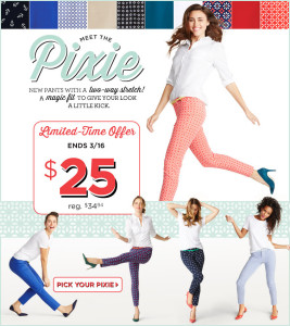 pixie 267x300 Old Navy: Ballet Flats Only $10! Today Only!