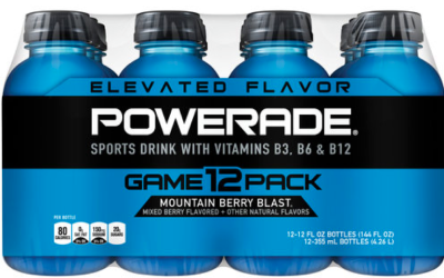 powerade 12pk Powerade 12pk only $2.59 at Target!