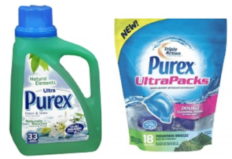 purex Purex Detergent Buy 1 Get 2 FREE = $1.24 Each at CVS!