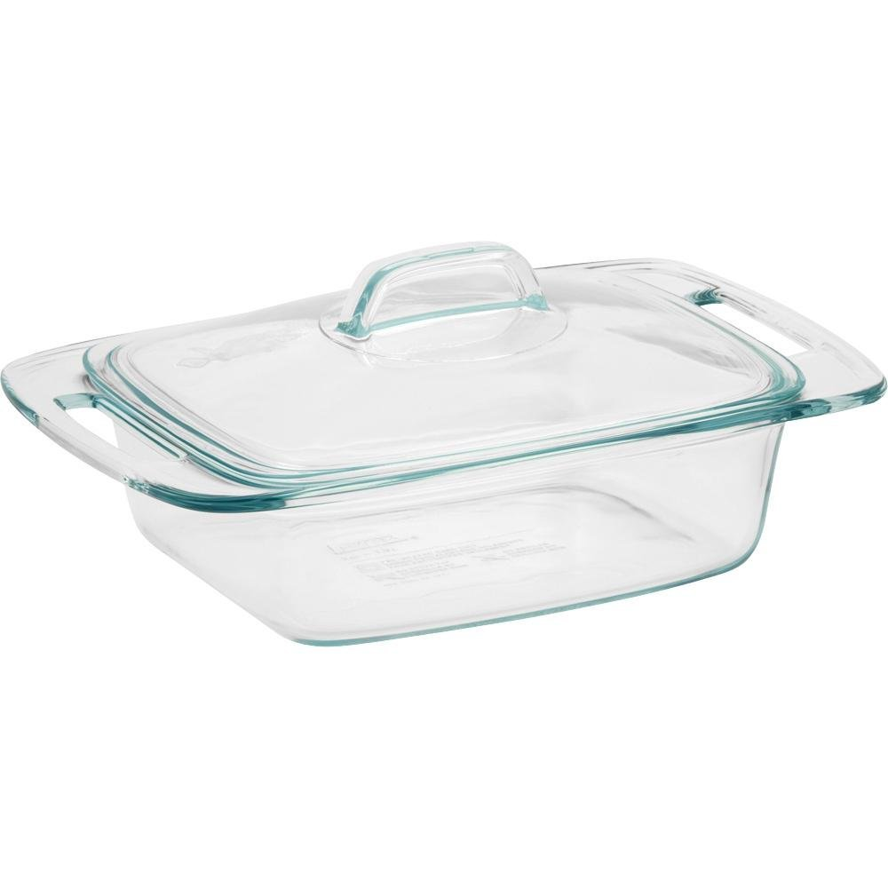 pyrex easy grab 2 quart casserole dish with lid only 809