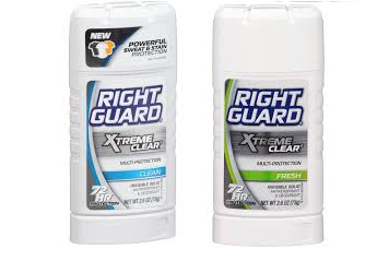 right guard extreme clear FREE + .50 Moneymaker on Right Guard Xtreme Clear Deodorant at CVS!