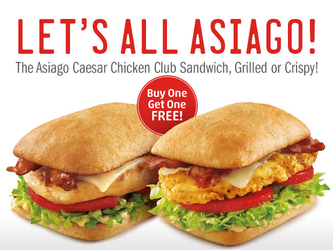 sonicchicken Buy One Get One FREE Asiago Chicken Sandwich at Sonic Drive In!