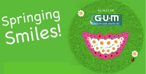 springing FREE Sunstar GUM 15 ct. Soft Picks!