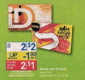 stride FREE + $.25 Moneymaker On Stride Gum at Rite Aid!