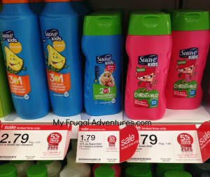suave 300x253 Suave Kids Shampoo & Conditioner Only $.70 at Target!
