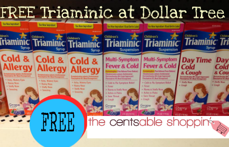 triaminic1 FREE Triaminic at Dollar Tree!