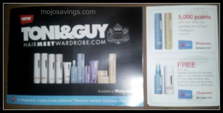 wags toni and guy coupon Free Toni & Guy Product at Walgreens!