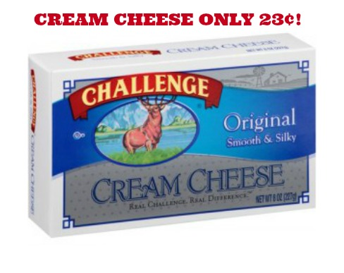 CHALLENGE CREAM CHEESE 23¢ AT WALMART Challenge Cream Cheese Just 23¢ at Walmart