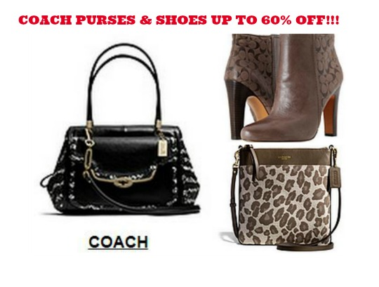 COACH PURSES AND SHOES