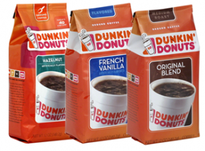 Dunkin Donuts ground coffee 300x221 FREE Bag Dunkin Donuts Ground Coffee + $.81 Moneymaker!