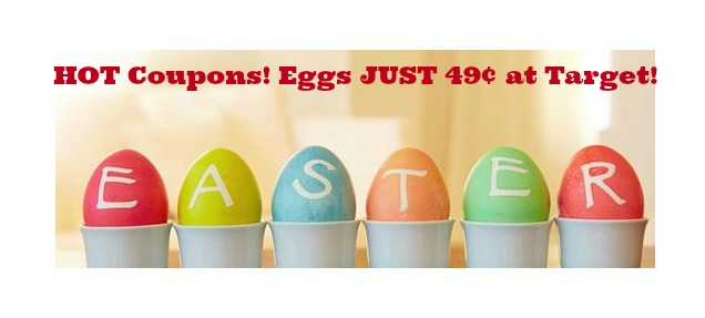Eggs coupons at Target Dozen Eggs Just 49¢ at Target + HOT Walgreens Deal