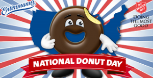 Entenmanns National Donut Day 300x153 FREE Entenmann's National Donut Day Giveaway! 100 Win a Free 1 Year Suppy