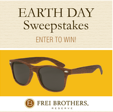Frei Brothers Reserve Sunglasses Frei Brothers Earth Day Giveaway   Win FREE Sunglasses!