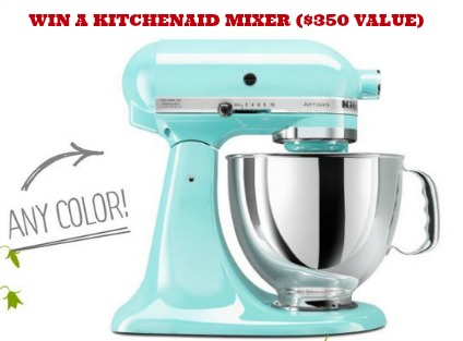 KitchenAid Mixer GIVEAWAY KitchenAid Mixer Giveaway ($350 Value!)