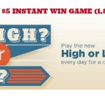 Kroger $5 instant win game