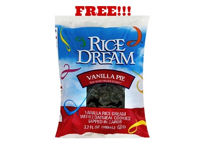 RiceDream vanillapie 2x FREE Rice Dream Dessert at Whole Foods!