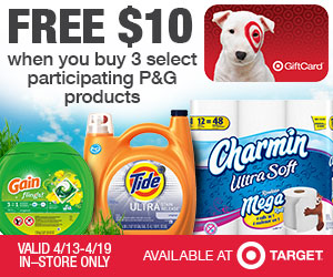 Target charmin deal Charmin Toilet Paper Just 33¢ Per Double Roll at Target!