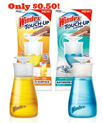 Windex touch up cleaner Feb Windex Touch Up Cleaner Only $0.50 at Waglreens!
