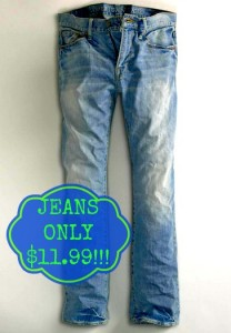 aejeans 208x300 American Eagle: Extra 40% off Clearance + Free Shipping Sitewide! Jeans Under $12, and Shirts Under $6!