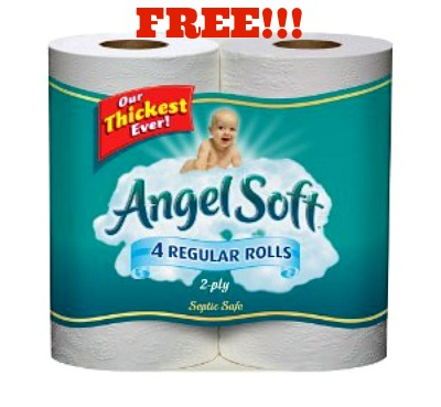 angel soft coupon FREE Angel Soft Bath Tissue at Safeway!