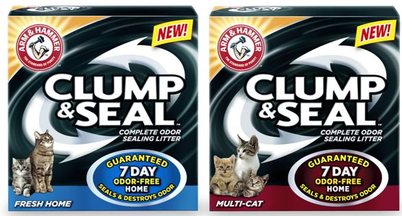 arm hammer clump seal cat litter FREE Arm & Hammer Clump & Seal Cat Litter
