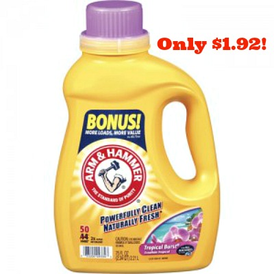 arm hammer detergent 300x300 Arm & Hammer Detergent Only $1.92 at Walgreens!