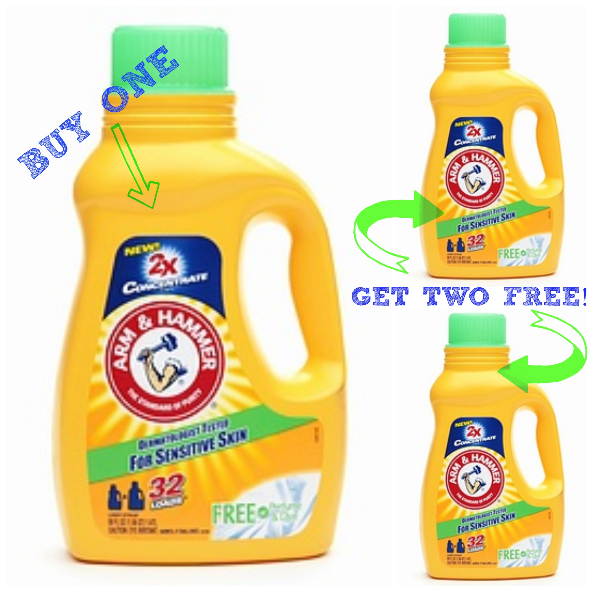 How to get free laundry detergent using coupons