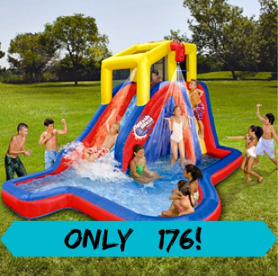 banzai *HOT* Banzai Slide n Soak Splash Park Only $176 + Kohl's Cash (Reg. $599)!
