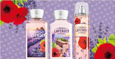 bbwtrio Bath & Body Works: NEW French Lavender & Honey Trio for $15 TODAY ONLY!