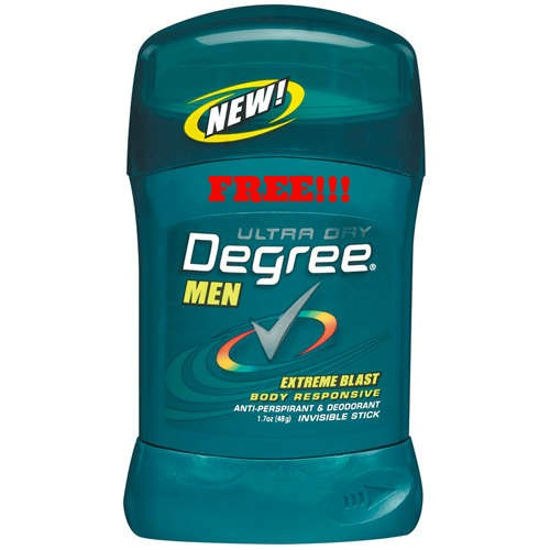 blast *HOT* FREE Degree Men Deodorant at Walgreens!