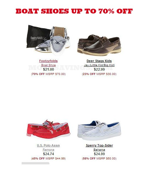 boat shoes Casual Boat Shoes as low as $21 shipped!