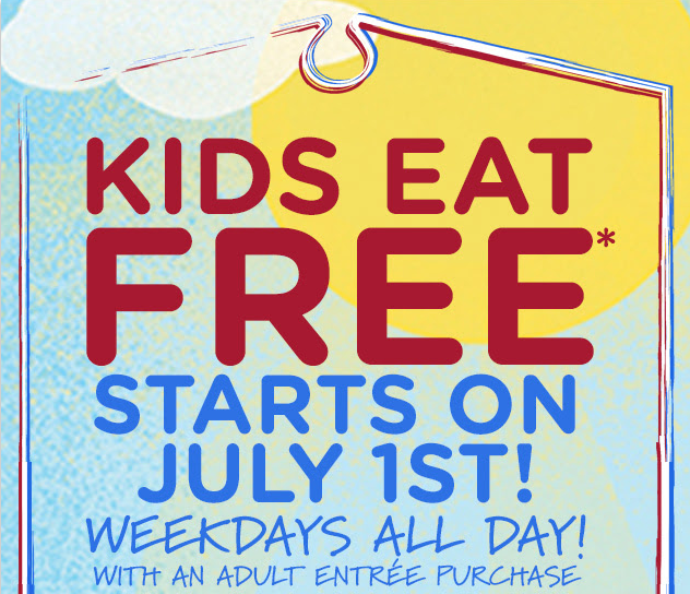 bobevans1 Bob Evans: Kids Eat FREE Every Weekday in July!