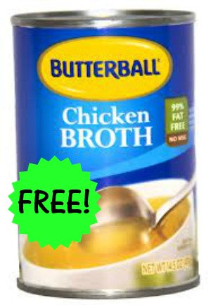 butterball chicken broth1 FREE Butterball Chicken Broth at Walgreens!