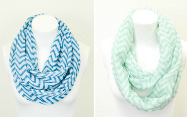 cents ofstyle 2 Chevron Infinity Scarves Only $11.96 Shipped!