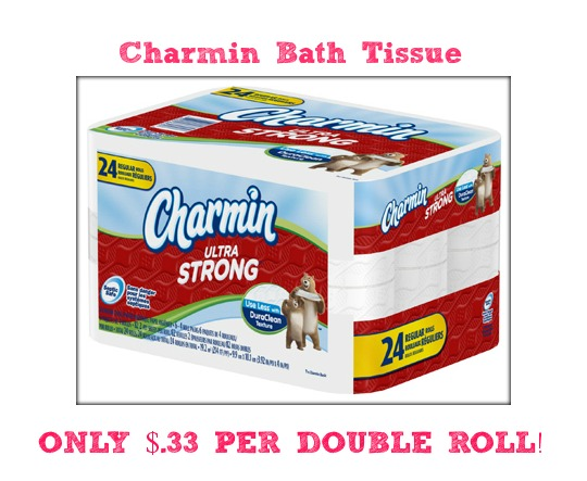 charmin2 Charmin Bath Tissue Only $.33 Per Roll at Target!