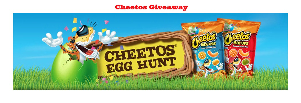 cheetos2 Cheetos Easter Egg Hunt Giveaway! 740 High Value Prizes!